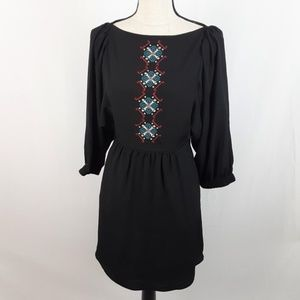 RACHEL Rachel Roy Dresses - Rachel Roy Dress Boho Embroidered Open Back 2